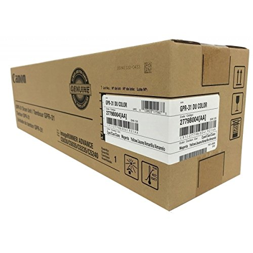 - Canon 2779B004BA GPR-31 Color Drum Unit for C5030 C5235 Toner