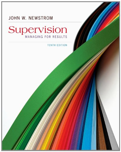 Supervision:Managing For Results