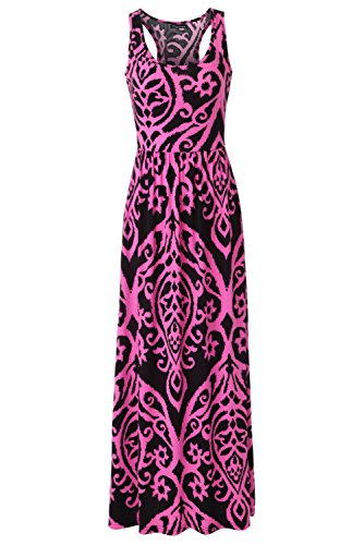 hot pink and black dresses plus size - 1