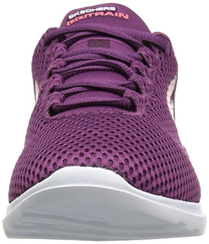 Skechers Damen Go Train-Hype Sneaker Violett (Purple)