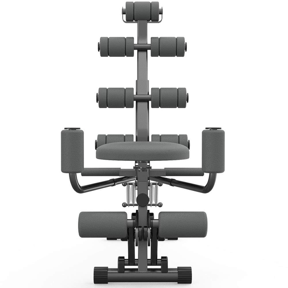 トレーニングベンチ 調整可能なアブスロケットの椅子腹部オールインワンフィットネス、ジムトレーニングトレーニングトレーナーエクササイズマシンベンチホームジムエクササイズ   B07L4N7HVC