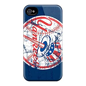 Iphone 4/4s Ibl18061ZANk Customized Colorful New York Yankees Image High Quality Hard Phone Cover -PhilHolmes