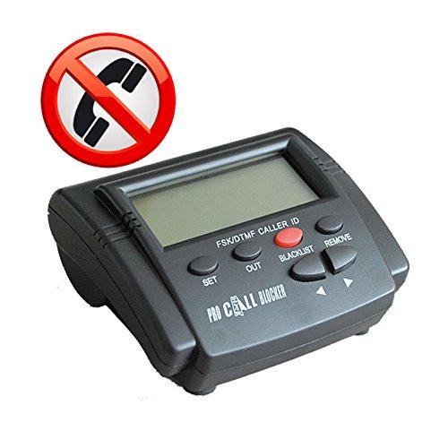 TelPal® Lastest Version Call Blocker Pro For Landline Home Phones With 3 Line Caller ID Displays And 1500 Capacity - Block All Spam Calls - Hidden Calls - Area Spam Calls