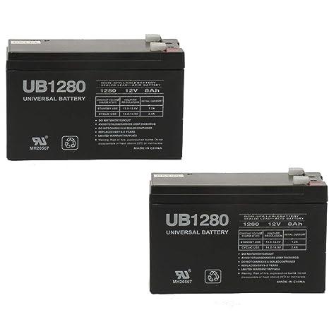 12V 8Ah F2 SLA Battery For Bruno SRE 2750
