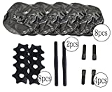 2017-NEW-CB-Sports-Deluxe-Travel-Dumbbells-Heavy-Weight-upto-55lb25kg-FREE-Extension-Pole-Adjustable-Portable-Dumbbells-Home-Workout-Equipment-Set-of-2-FILL-WITH-WATER-BLACK