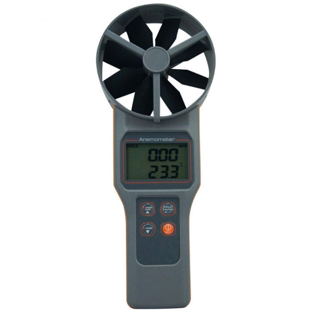 Anemómetro Digital El anemómetro Multifuncional Mide la Velocidad del Viento y el anemómetro de Humedad y Temperatura del dióxido de Carbono Termómetro