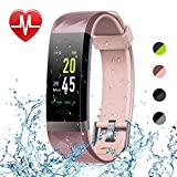 Letsfit Fitness Tracker Color Screen HR, Heart Rate Monitor Watch, IP68 Waterproof Activity