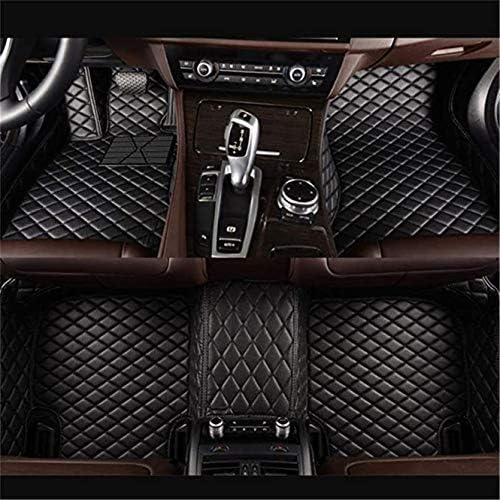 Fu/ßmatten f/ür 99/% Automodelle Fussmatten rutschfeste Abnutzung Bodenmatten-Leder Material Automatten Teppiche Beige
