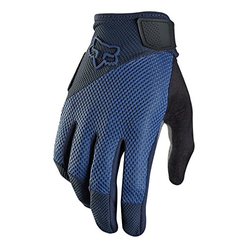 Fox Racing Reflex Gel Mountain Bike Gloves , Blue, Small (Best Mtb Enduro Gloves)