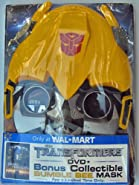 Transformers Dvd + Bonus Collectible Bumble Bee Mask-limited Time Only