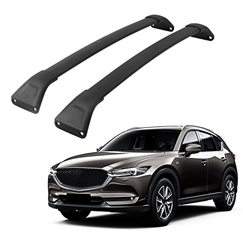 Cx Cross (Cross Bar for Mazda CX-5 2017 2018 Luggage Roof Rack Baggage Box Carrier Holder)