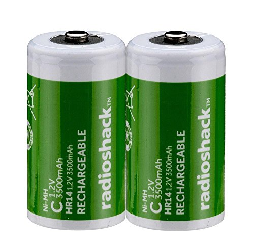 RadioShack 3500mAh C NIMH Batteries (2-Pack)