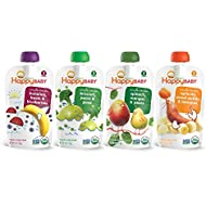 Happy Baby Organic Stage 2 Baby Food, Simple Combos,...