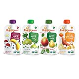 Baby : Happy Baby Organic Stage 2 Baby Food, Simple Combos, Variety Pack, 4 Ounce (Pack of 16)