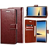 Erotic Flip Wallet Case Cover for Oppo A7 - Cherry Brown