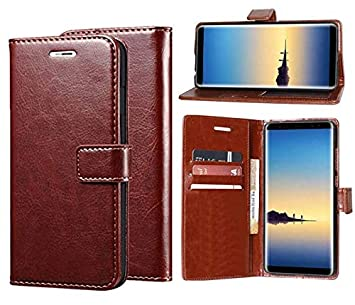 Erotic Flip Wallet Case Cover for Mi Redmi Note 4   Cherry Brown Cases   Covers