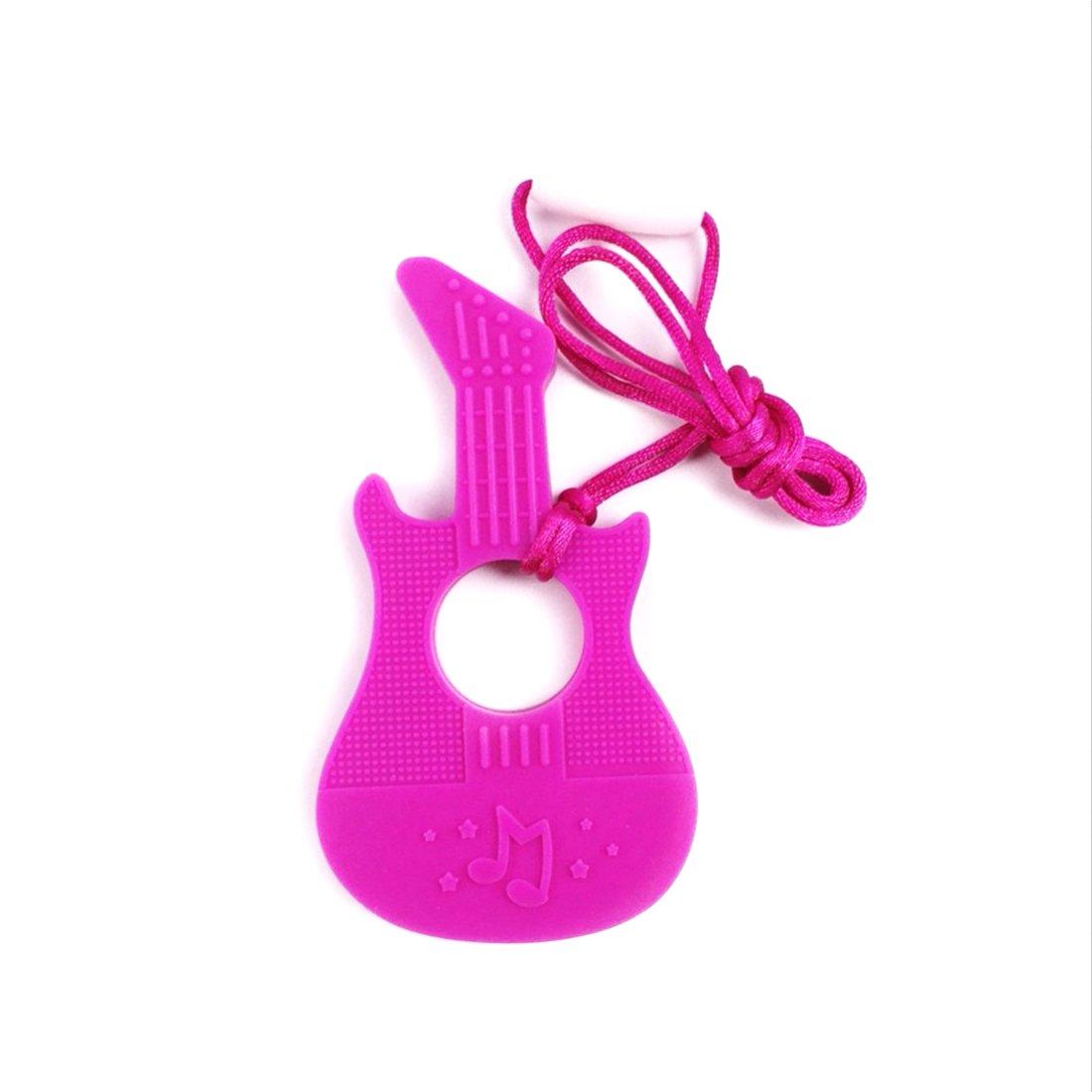 高価値セリー Baby Teether Guitar Mom Silicone Pendant Eco-friendly Teething Sensory B01KL6JMPQ Tool Teething Silicone DIY Necklace Acessory for Mom (LA217-C) by LOVEBABY B01KL6JMPQ, 山越郡:ccf685bd --- a0267596.xsph.ru