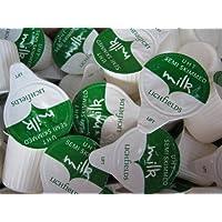 240 porciones de 12ml UHT leche semidesnatada