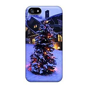 Mxcases Iphone 5/5s Well-designed Hard Case Cover Christmas Tree Lights Protector