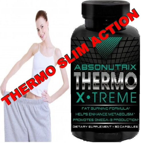 Absonutrix Thermo X.treme - Fat Burner avec Xtreme thermogénique action