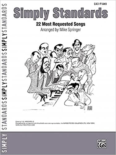 Simply Standards 22 Most Requested Songs Easy Piano Simply