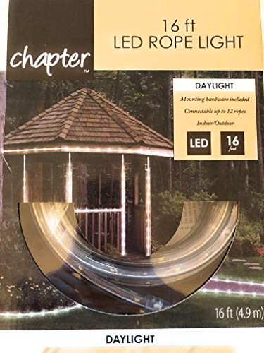Chapter 16 Ft Led Rope Lights Daylight Indoor Outdoor Lighting ()