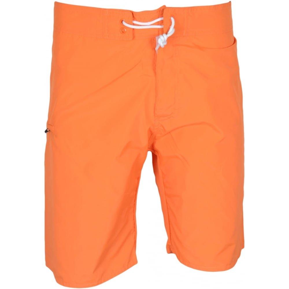 Franklin & Marshall Herren Badeshort Orange Orange