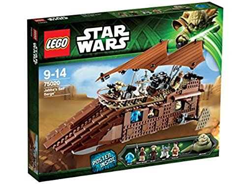 LEGO STAR WARS Jabbas Barge 75020 for sale  Delivered anywhere in USA