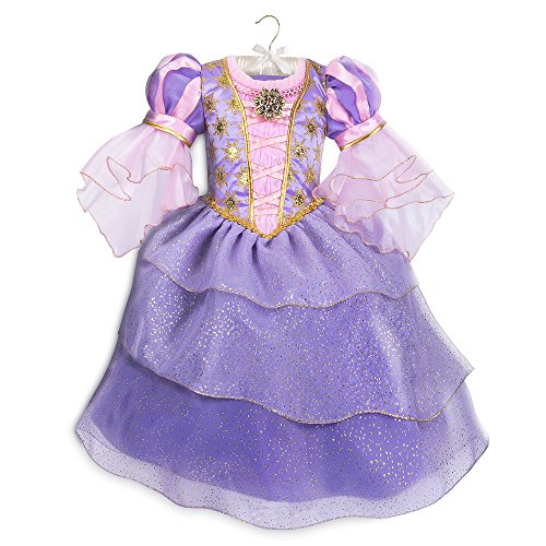 Disney Rapunzel Costume for Kids - Tangled Size 3 Purple]()