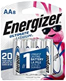 Health & Personal Care : Energizer AA Lithium Batteries, World's Longest Lasting Double A Battery, Ultimate Lithium (8 Battery Count) - Packaging May Vary