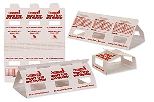 Insect Trap & Monitors 288i - No Chemicals !!!- Non-toxic glue traps!! 5 Glue Boards / 15 Monitors (Diy Concrete Outdoor Furniture)