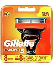Gillette Fusion Manual Razor Blades, 8 Count