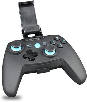 Mando de Juegos inalámbrico BT Gamepad Joystick, Mujer Doble vibración Gamepad para Android iOS/Gear VR/Tablet/Smart TV/Game Boy Emulator: Amazon.es: Electrónica