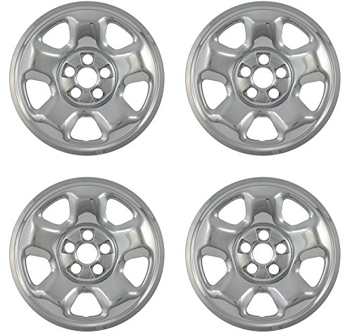 Rims Honda Ridgeline (Wheel Skins for Honda Ridgeline (Pack of 4) Wheel Covers - 17 Inch Chrome Impostors)