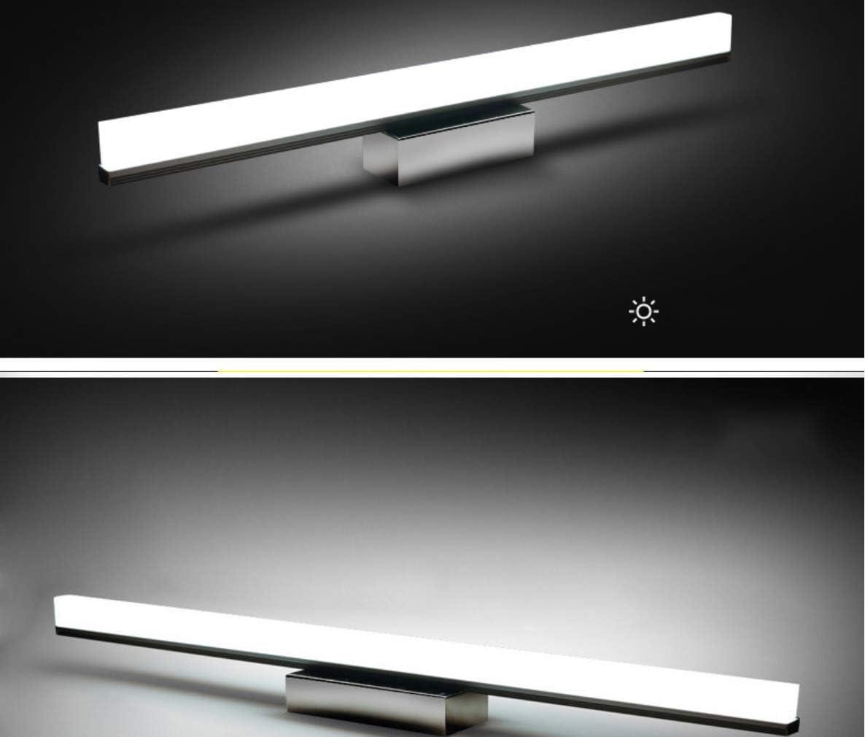UMOOIN Wandleuchte für warme Wandleuchte Spiegel IP44 wasserdichtes Licht weiß 4000K Schrankwand, Schrank, an der Wand Badezimmer LED Spiegelleuchte,30w/150cm 8w/40cm
