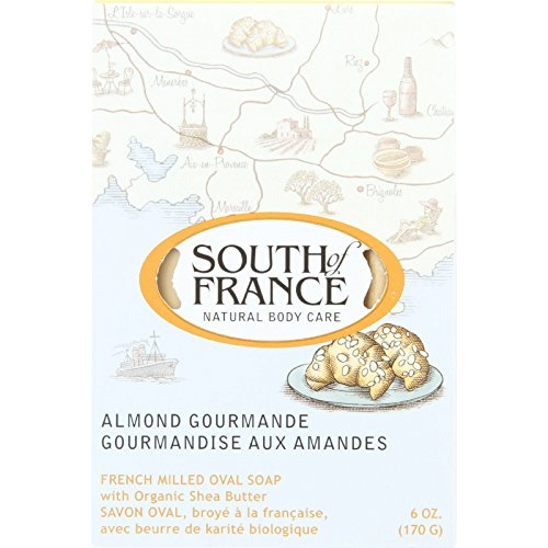 South Of France Bar Soap - Almond Gourmand - 6 oz - 1 each (Pack of 4)