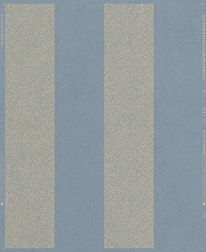 Graham & Brown 33-327 Artisan Stripe Blue Wallpaper