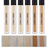 BONNIE CHOICE 6 Pcs Liquid Concealer Makeup Waterproof Smooth Matte Flawless Finish Creamy Foundation for Eye Dark Circles Face Concealer Dark Circle Cover (6 Colors)