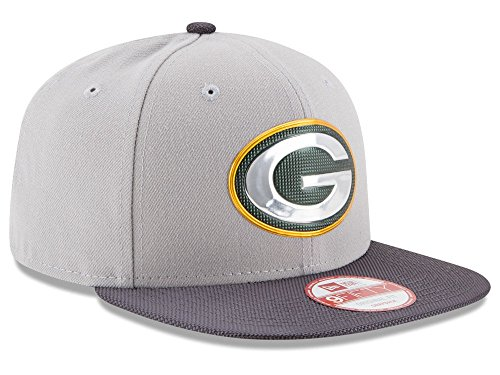 New Era NFL GREEN BAY PACKERS Authentic Gold 9FIFTY Snapback Cap