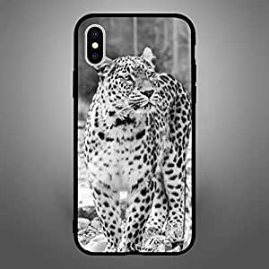 iPhone X / 10 Case Cover BnW Cheetah Zoot High Quality Design Phone Covers