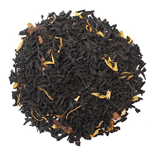 The Tea Farm - Pumpkin Spiced Black Holiday Tea - Loose Leaf Black Tea (16 Ounce (Homemade Halloween Gift Basket Ideas)