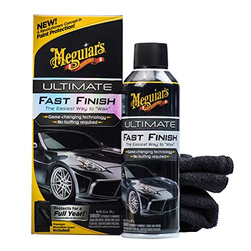 Meguiar's G18309 Ultimate Fast Finish, 8.5 oz