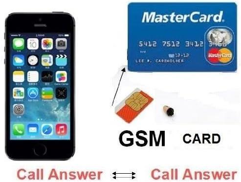 Amazon.com: GSM Box ID Tarjeta de Crédito auricular ...