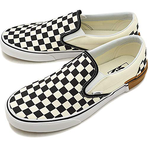 Vans Classic Slip ON Gum Block/Checkerboard Shoes (6.5 Women US - 5 Men US) ()