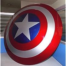 Gmasking ABS Captain America Adult Shield 1:1 Prop Metallic Color Replica