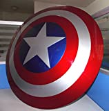 Gmasking Captain America Adult Shield 1:1 Prop New Color Replica+Adjustable Strap