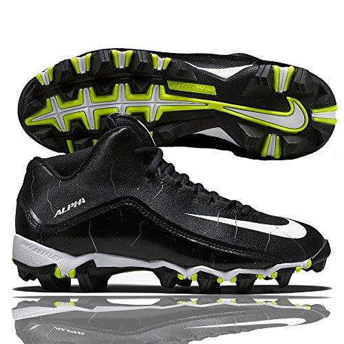 Nike alpha shark 3/4 chaussures de football noir/blanc