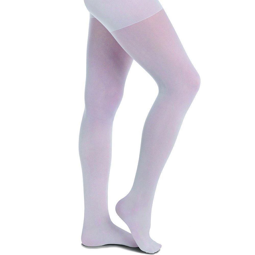 Nurse Mates Women's Medical Compression Pantyhose White