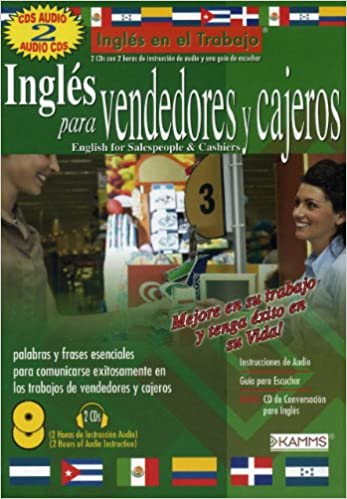 Amazon.com: Ingles Para Vendedores Y Cajeros / English for Sales People & Cashiers (Ingles en el Trabajo) (9780979500015): Stacey Kammerman: Books