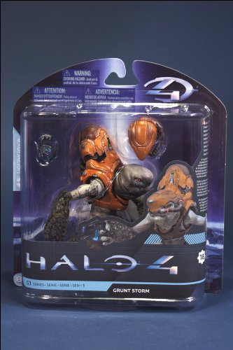 McFarlane Toys Halo 4 Series 1 - Storm Grunt with Plasma Pistol Action Figure